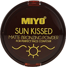 Fragrances, Perfumes, Cosmetics Bronzing Powder - Miyo Sun Kissed Matt Bronzing Powder