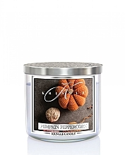 Fragrances, Perfumes, Cosmetics Scented Candle in Jar - Kringle Candle Pumpkin Peppercorn