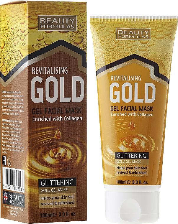 Deep Cleansing Mask - Beauty Formulas Gold Gel Facial Mask