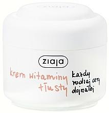 """Fragrances, Perfumes, Cosmetics Face Cream """"Vitamin"""" - Ziaja Face Cream"""