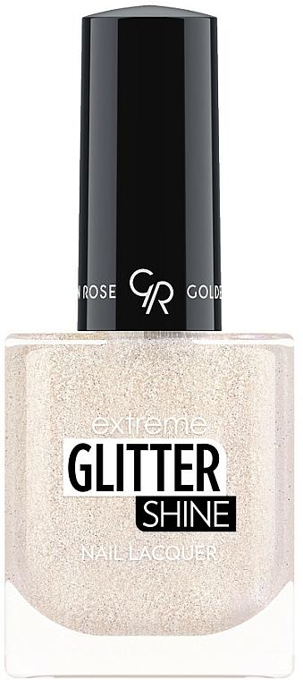 Nail Polish - Golden Rose Extreme Glitter Shine Nail Lacquer