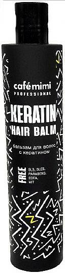 Keratin Hair Balm - Cafe Mimi Professional Keratin Hair Balm