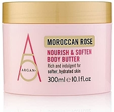 "Fragrances, Perfumes, Cosmetics Body Butter ""Moroccan Rose"" - Argan+ Moroccan Rose Nourish & Soften Body Butter"