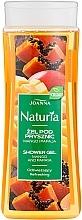 "Fragrances, Perfumes, Cosmetics Shower Gel ""Mango and Papaya"" - Joanna Naturia Mango and Papaya Shower Gel"