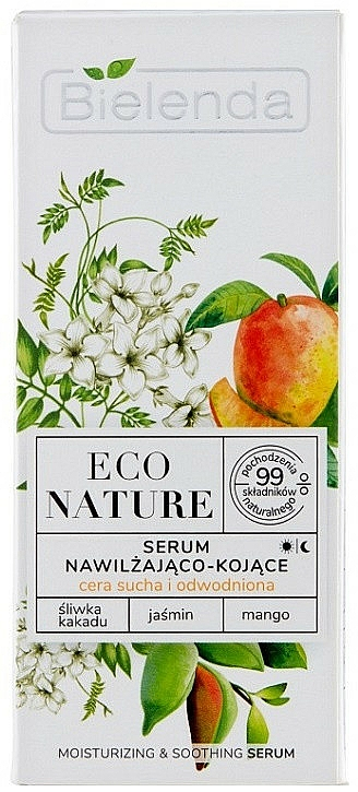 Face Serum - Bielenda Eco Nature Kakadu Plum, Jasmine and Mango — photo N1