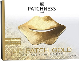 Fragrances, Perfumes, Cosmetics Lip Patches - Patchness Lip Patch Gold