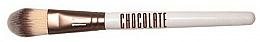 Fragrances, Perfumes, Cosmetics Makeup Brush - Novara Chocolate No. 17 Taklon Make Up Brush