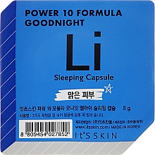Fragrances, Perfumes, Cosmetics Night Capsule-Mask - It's Skin Power 10 Formula Goodnight Li Sleeping Capsule