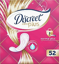 Fragrances, Perfumes, Cosmetics Daily Pantiliners Normal Plus, 52pcs - Discreet Zone Plus