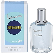 Fragrances, Perfumes, Cosmetics Vespa Sensazione For Him - Eau de Toilette