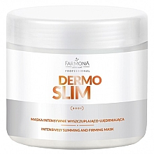 Fragrances, Perfumes, Cosmetics Intensive Slimming & Firming Mask - Farmona Professional Dermo Slim Intensively Slimming And Firming Mask