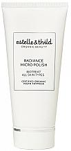 Fragrances, Perfumes, Cosmetics Radiance Face Scrub - Estelle & Thild Biotreat Radiance Micro Polish