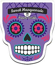 Fragrances, Perfumes, Cosmetics Facial Sheet Mask - Dr Mola Sweet Masquarade Pureple Fruits mask