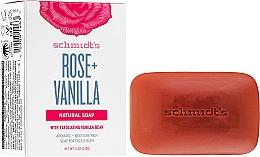 Fragrances, Perfumes, Cosmetics Soap - Schmidt's Naturals Bar Soap Rose Vanilla