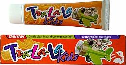 Fragrances, Perfumes, Cosmetics Tropical Fruit Toothpaste - Dental Tra-La-La Kids Tropical Fruit Toothpaste