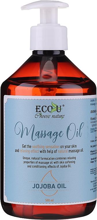 Massage Oil - Eco U Jojoba Massage Oil
