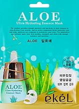 Fragrances, Perfumes, Cosmetics Aloe Sheet Mask - Ekel Aloe Ultra Hydrating Essence Mask