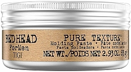 Fragrances, Perfumes, Cosmetics Men Hair Styling Paste - Tigi Bed Head Men Pure Texture