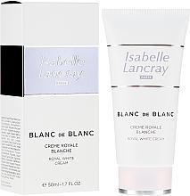 Fragrances, Perfumes, Cosmetics Brightening Cream - Isabelle Lancray Blanc De Blanc Royal White Cream