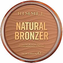 Fragrances, Perfumes, Cosmetics Bronzing Powder - Rimmel Natural Bronzer Waterproof Powder