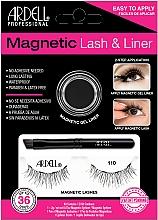 Fragrances, Perfumes, Cosmetics Set - Magnetic Lash & Liner 110 Lash Kit (eye/liner/2g + lashes/2pc)