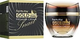 Fragrances, Perfumes, Cosmetics Gold & Snail Mucin Cream - FarmStay Gold Snail Premium Cream