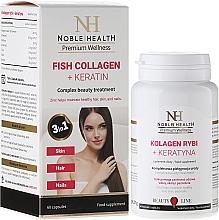 Fragrances, Perfumes, Cosmetics Hair, Skin & Nail Care Complex - Noble Health Kolagen + Ceratin