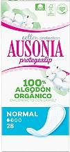 Fragrances, Perfumes, Cosmetics Pantyliners, 28 pcs - Ausonia Cotton Protection Normal