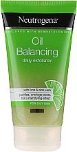 Fragrances, Perfumes, Cosmetics Daily Exfoliator - Neutrogena Oil Balancing Daily Exfoliator