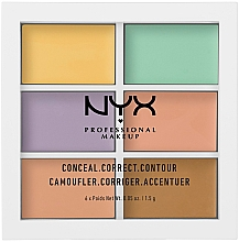 Fragrances, Perfumes, Cosmetics Correcting Palette - NYX Professional Makeup Color Correcting Palette