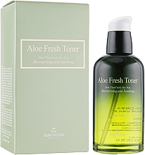 Fragrances, Perfumes, Cosmetics Moisturizing Aloe Toner - The Skin House Aloe Fresh Toner