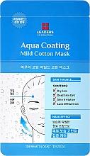 Fragrances, Perfumes, Cosmetics Face Mask - Leaders Ex Solution Aqua Coating Mild Cotton Mask