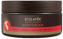 Fragrances, Perfumes, Cosmetics Shape Correction Body Cream - Ecolatier