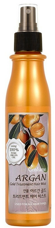 Argan Oil & Gold Hair Spray - Welcos Confume Argan Gold Treatment Hair Mist