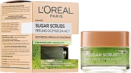 Fragrances, Perfumes, Cosmetics Cleansing Sugar Face Scrub - L'Oreal Paris Sugar Scrubs