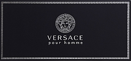Fragrances, Perfumes, Cosmetics Versace Versace pour Homme - Set (edt/5ml + sh/gel/25ml + ash/balm/25ml)