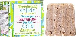 Fragrances, Perfumes, Cosmetics Solid Shampoo for Oily Hair - Lamazuna Solid Shampoo For Oily Hair With Litsea Cubeba