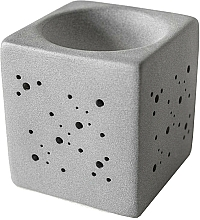 Fragrances, Perfumes, Cosmetics Cube Aroma Lamp, grey - Flagolie By Paese Cube Fireplace Grey