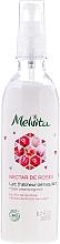 "Fragrances, Perfumes, Cosmetics Cleansing Milk ""Rose Nectar"" - Melvita Nectar de Roses Lait Fraicheur Demaquillant"