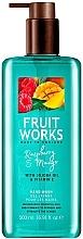 Fragrances, Perfumes, Cosmetics Raspberry & Mango Hand Soap - Grace Cole Fruit Works Hand Wash Raspberry & Mango
