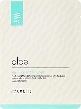 Fragrances, Perfumes, Cosmetics Soothing Aloe Vera Sheet Mask - It's Skin Aloe Relaxing Mask Sheet