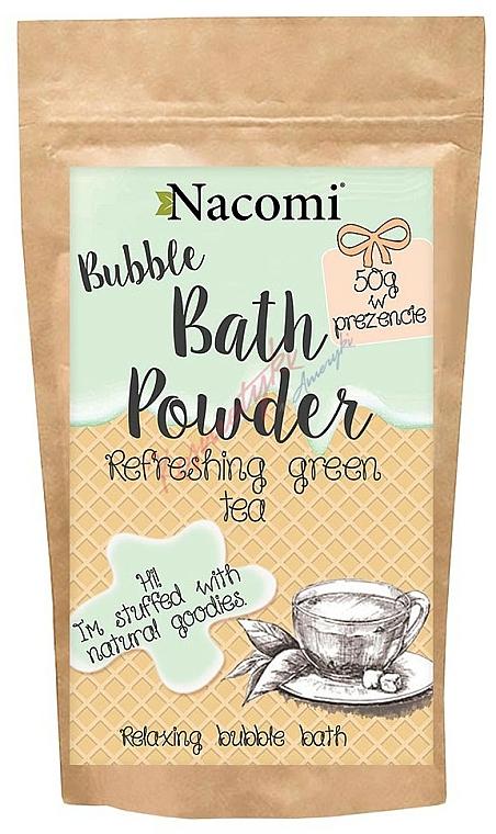 "Bath Powder ""Refreshing Green Tea"" - Nacomi Refreshing Green Tea Bath Powder"