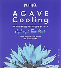 Fragrances, Perfumes, Cosmetics Hydrogel Cooling Face Mask with Agave Extract - Petitfee&Koelf Agave Cooling Hydrogel Face Mask