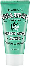 Fragrances, Perfumes, Cosmetics Tea Tree Night Mask - A'pieu Fresh Mate Tea Tree Mask