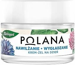 Fragrances, Perfumes, Cosmetics Moisturizing & Smoothing Day Cream-Gel - Polana