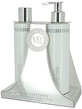 Fragrances, Perfumes, Cosmetics Set - Vivian Gray White Crystals Set (sh/gel/250ml + b/lot/250ml)