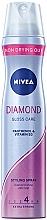 "Fragrances, Perfumes, Cosmetics Keratin Protection Hair Spray ""Diamond Gloss"" - Nivea Hair Care Diamond Gloss Styling Spray"