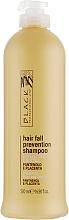 Fragrances, Perfumes, Cosmetics Anti Hair Loss Panthenol & Placenta Shampoo - Black Professional Line Panthenol & Placenta Shampoo