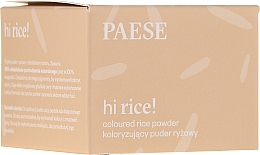 Fragrances, Perfumes, Cosmetics Colored Rice Powder - Paese Hi Rice Coloured Rice Powder