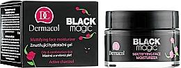 Fragrances, Perfumes, Cosmetics Matte Moisturizing Face Gel - Dermacol Black Magic Facial Gel